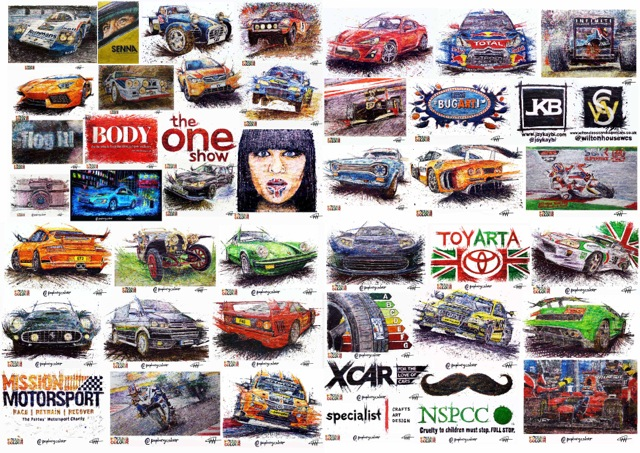 3d Art for car shows
