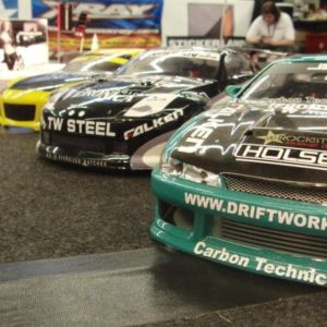 Remote control cars at events