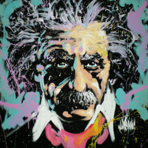 Einstein done by Speed Painter