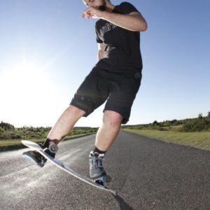 Freestyle Skateboard Artist