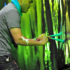 Professional Speed Painter Live Stage Show
