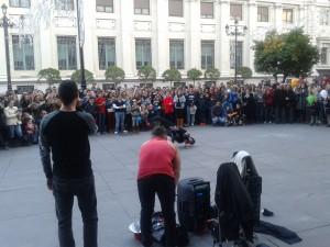 Street break dance