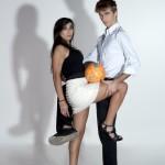 Duo football jugling show