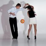 Latin Brazil football dance show
