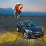 Pogostick car promotion