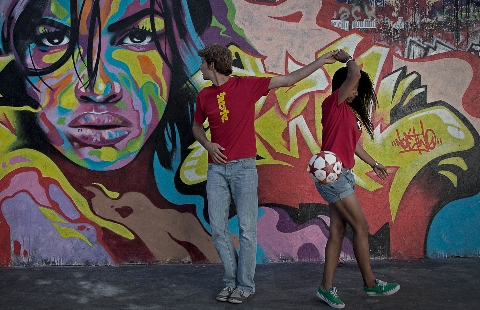 Salsa Football tricks