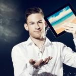 iPad magic for events