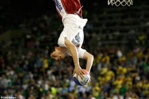 Amazing acrobatic basketball