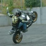 Freestyle Motorbike rider entertainment t