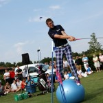 Golf Unicycle Entertainer