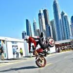 Live Motorbike stunt show