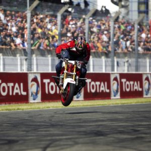 Motorbike Stunt spectacular
