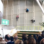 Parkour Stunt Opening Airport Show