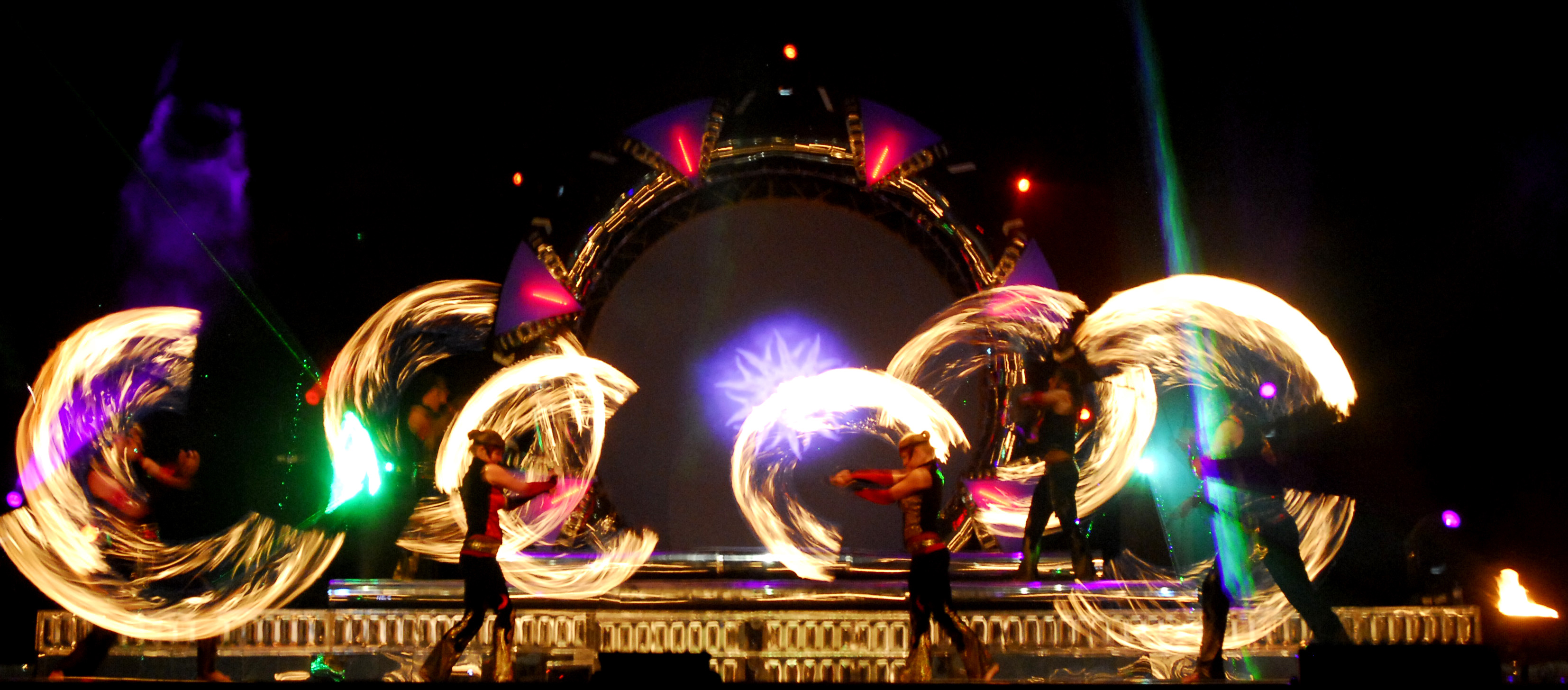 LED Pyro Stage Show for Events - Streets United