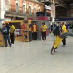Guerilla marketing with breakdancers