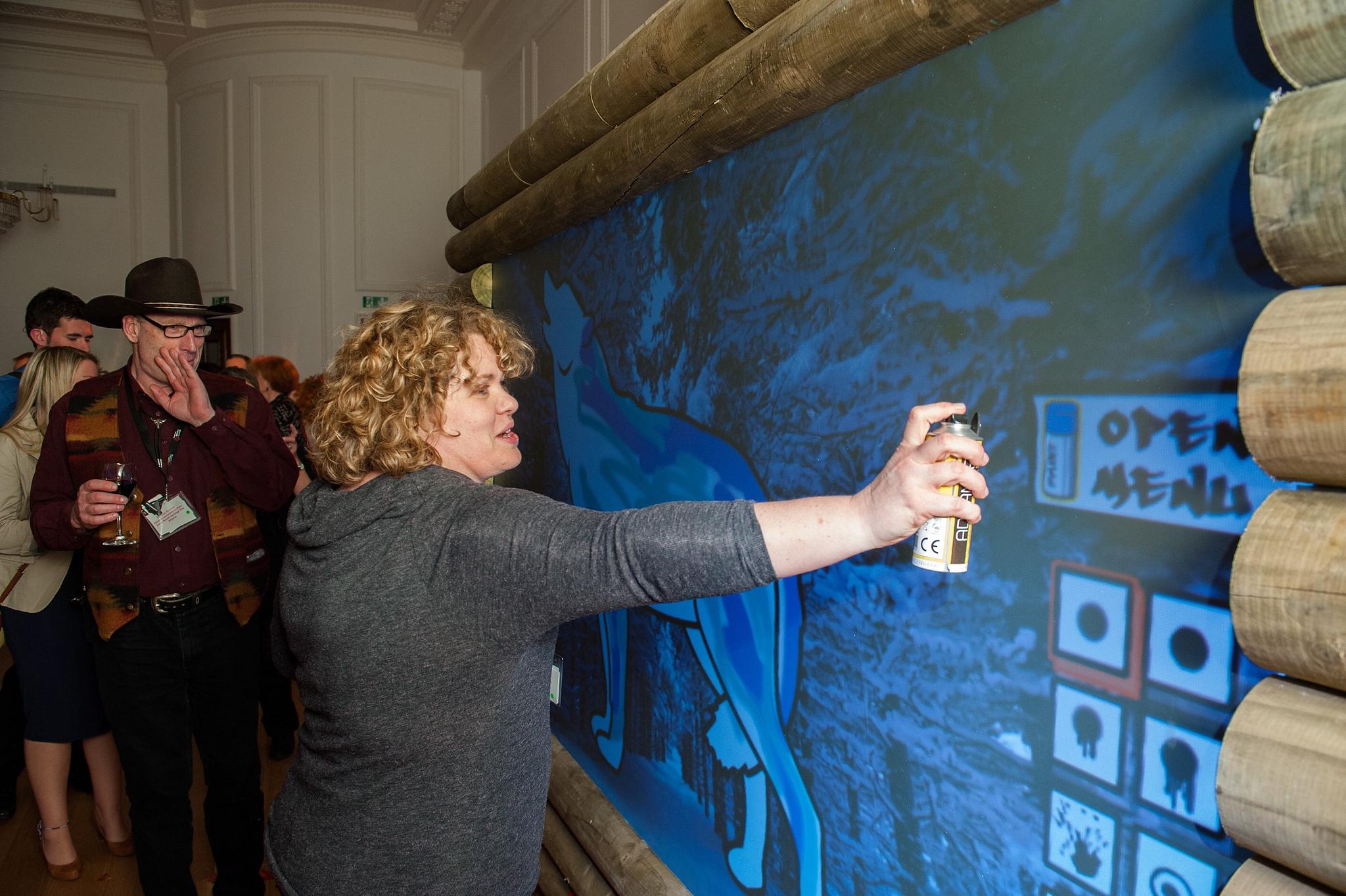 Interactive graffiti wall uk - An Error Occurred
