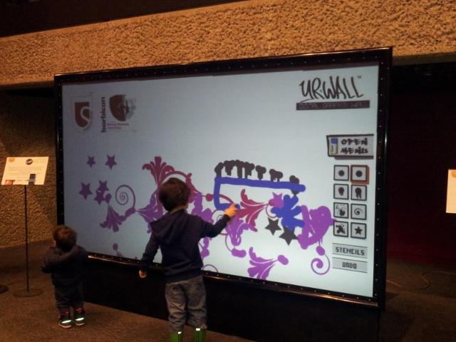 Digital Graffiti Wall Brand Promotions