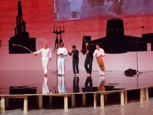 Stage show capoeira