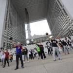 Flash Mobs for world cup events