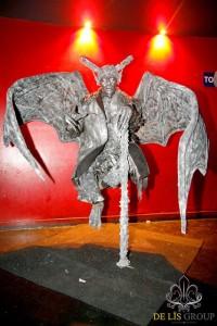 Gargoyle Levitating Statue