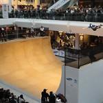 Shopping Center Half Pipe SHow