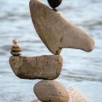 Stone balance artist