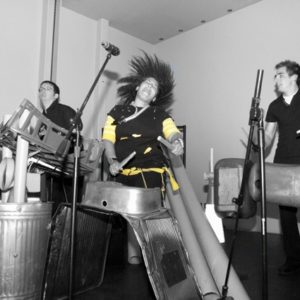 Alternative instruments band for events