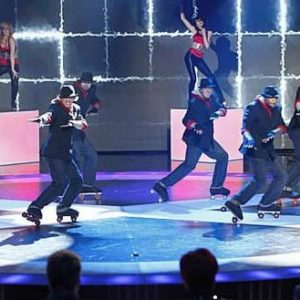 Roller skate performers - corporate events