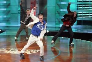 Roller skate stage show