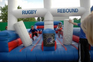Rugby entertainment for events