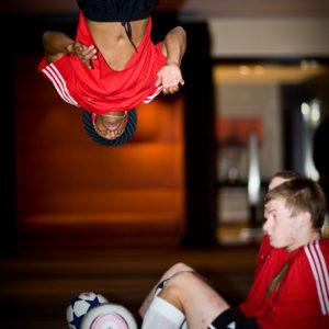 UK Freestyle Footballer