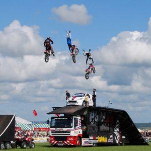 Motorbike Ramp Show