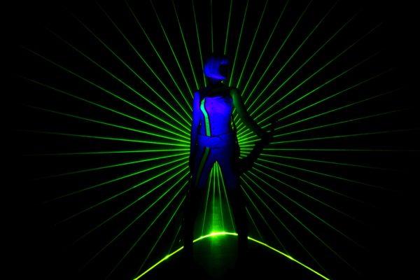 Entertainer - violin laser