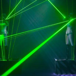 Violin laser entertainment