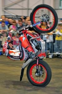 Stunting motorbike show