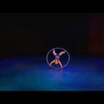 Cyr Wheel Female Acrobat