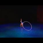 Female Acrobat with Cyr Wheel