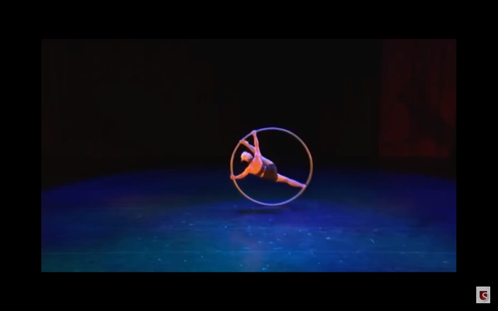Female Acrobatic Stage Show