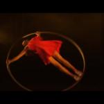 Female Acrobatic Wheel Performer