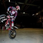 Indoor Bike Stunt Show