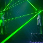 Laser Entertainment Music Show