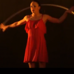 Stage Female Acrobat