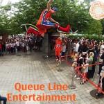 Stilt Jumping Entertainers