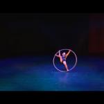 Acrobatic Tricks with Cyr Wheel