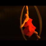 UK Female Cyr Wheel Acrobat