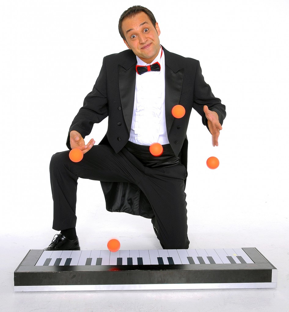 Ball Juggling Musician