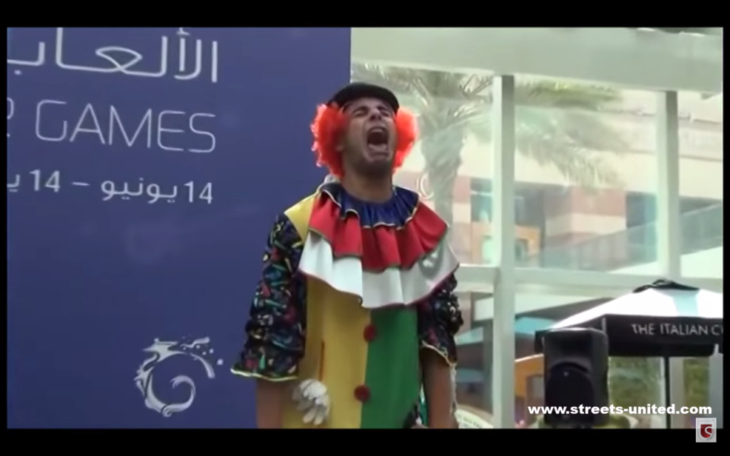 Clown Entertainer Middle East