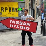 London Sign Spinner