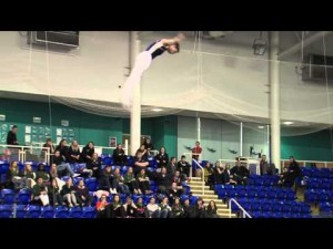 Olympic Themed Trampoline Show