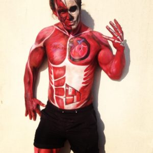 PR Marketing Body Painting